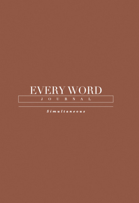 View Every Word Journal Simultaneous Hardcover by Every Word Collective
