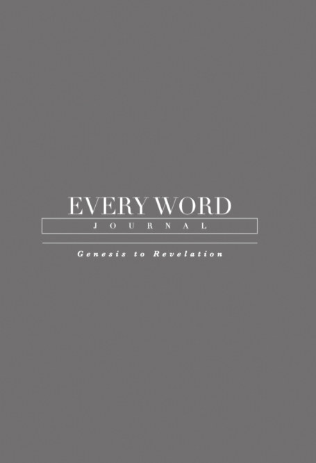 View Every Word Journal Hardcover by Every Word Collective