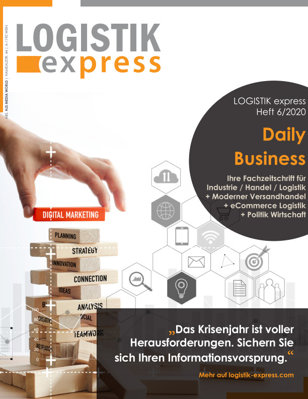 View LOGISTIK express Journal 6/2020 by HJS Media World