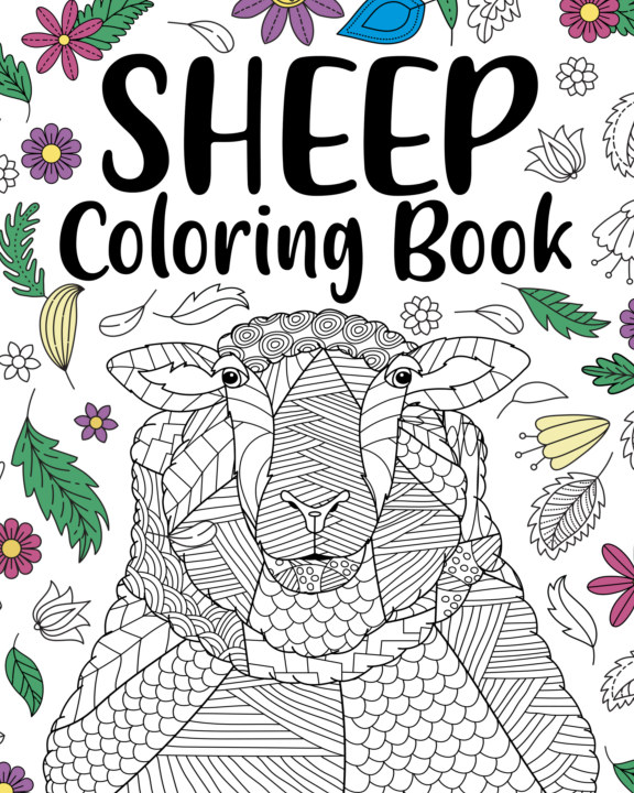 View Sheep Coloring Book by PaperLand