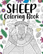 Sheep Coloring Book book cover