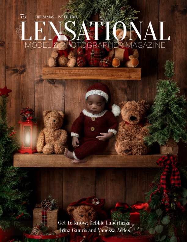 View LENSATIONAL Model and Photographer Magazine #73 Issue | Christmas - 1st edition - December 2020 by Lensational Magazine