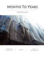 Months To Years Summer 2020 book cover
