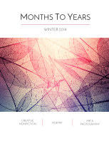 Months To Years Winter 2018 book cover