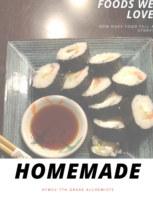 Homemade book cover