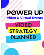 Power Up Your Video - Weekly Planner book cover