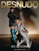 Desnudo Magazine Italia Issue 9 - Lila and Elodie Cover book cover