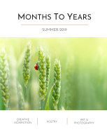 Months To Years Summer 2019 book cover