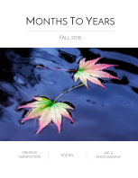 Months To Years Fall 2018 book cover