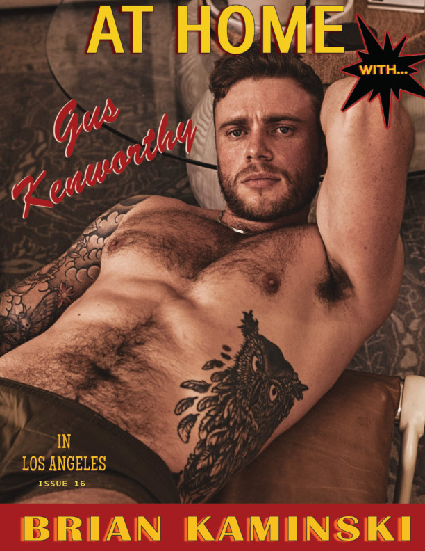 View Issue 16. Gus Kenworthy - At Home by Brian Kaminski by Brian Kaminski