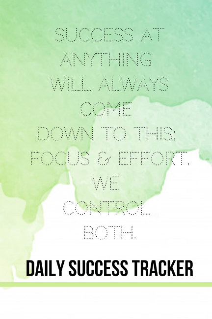 View Daily Success Tracker by CB Foreman