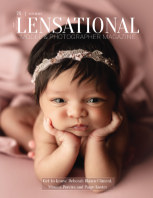 LENSATIONAL Model and Photographer Magazine #76 Issue | Newborn - January 2021 book cover