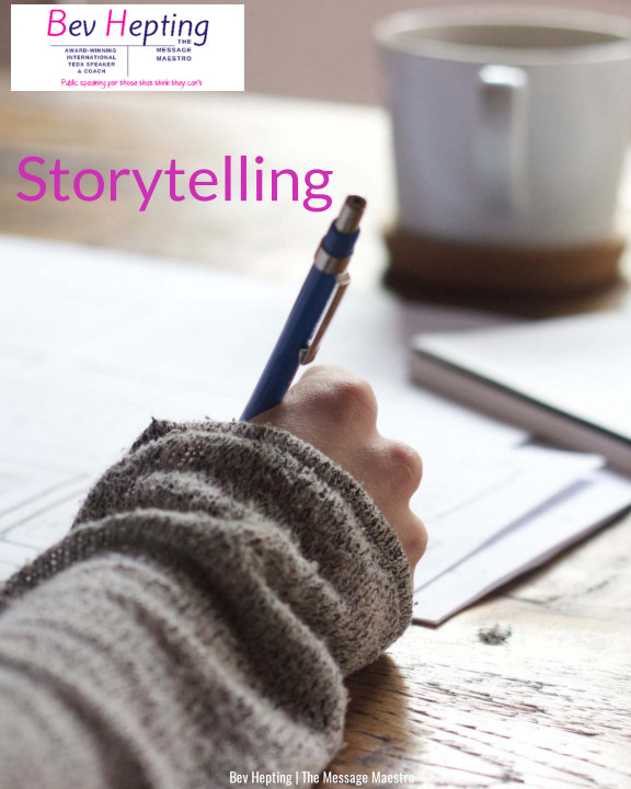 Bekijk Storytelling for business op Bev Hepting