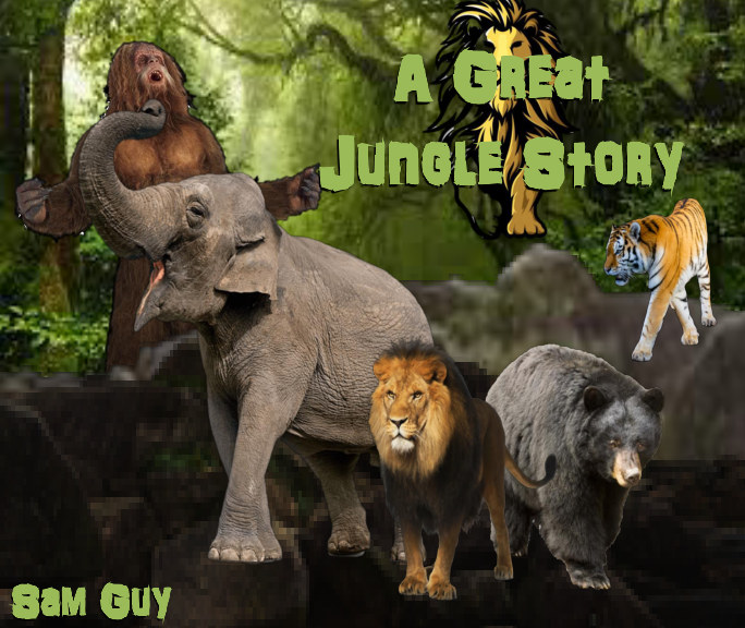 View A Great Jungle Story by Sam Guy
