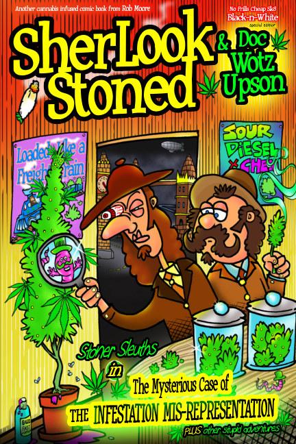 Bekijk Sherlook Stoned (cheapsk8 issue) op Rob Moore