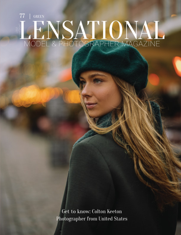 View LENSATIONAL Model and Photographer Magazine #77 Issue | Green - January 2021 by Lensational Magazine