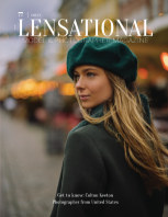 LENSATIONAL Model and Photographer Magazine #77 Issue | Green - January 2021 book cover