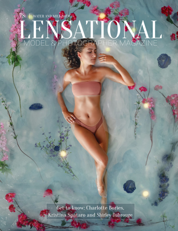 View LENSATIONAL Model and Photographer Magazine #78 Issue | Water and Milk Bath - January 2021 by Lensational Magazine