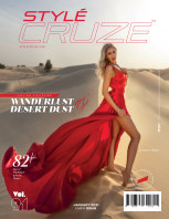 JANUARY 2021 Issue (Vol: 91) | STYLÉCRUZE Magazine book cover