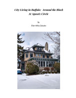 City Living in Buffalo:  Around the Block at Agassiz Circle book cover