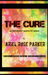 "The Cure Series Book II: ""Everything"" - illustrated black and white hardcover book cover"