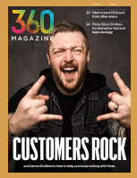 360 Magazine Vol 1 Issue 1 book cover