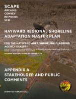 Hayward Shoreline Adaptation Master Plan - Appendix A book cover