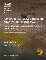 Hayward Shoreline Adaptation Master Plan - Appendix B book cover