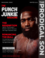The Punch Junkie Magazine (Winter 2021) book cover