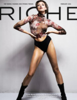 Riche Magazine February 2021 book cover
