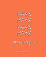 MAXX 4 Month PERSIMMON book cover