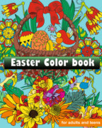 Easter color book for adults and kids of all ages book cover