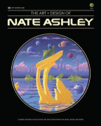 The Art + Design of Nate Ashley (softcover) book cover