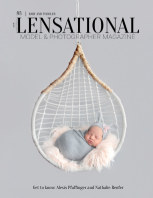 LENSATIONAL Model and Photographer Magazine #83 Issue | Baby and Toddler - February 2021 book cover