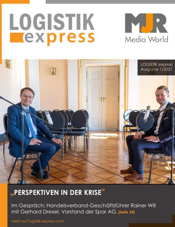 Visualizza LOGISTIK express Journal 1/2021 di MJR Media World