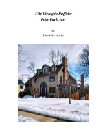 City Living in Buffalo: Edge Park Ave. book cover