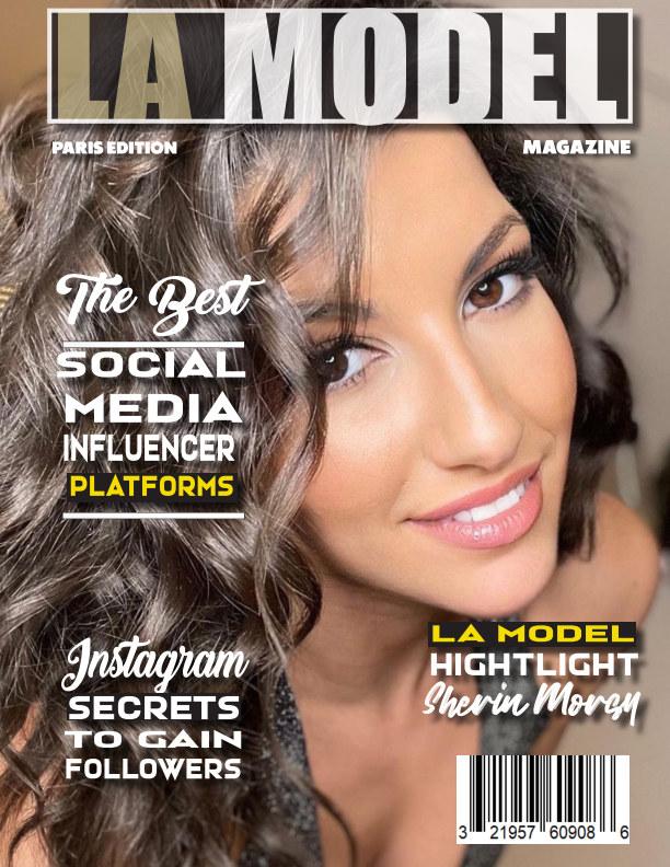 View LA Model Magazine Paris Edition by Armand Lucas. Charles Martinez