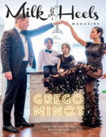 Milk and Heels Magazine  x  Grego Minot Family 2021 book cover