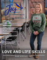 Joy of Medina County Magazine January 2021 book cover