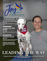 Joy of Medina County Magazine February 2021 book cover