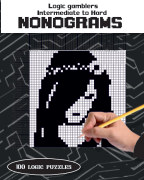 Intermediate to hard Nonogram collection book cover
