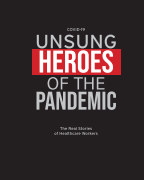 Covid-19 Unsung Heroes of the Pandemic book cover