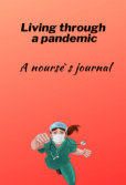 Living through a pandemic book cover