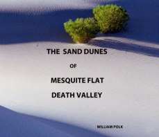 The Sand Dunes of Mesquite Flat, Death Valley book cover