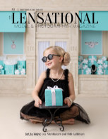 LENSATIONAL Model and Photographer Magazine #87 Issue | Birthday, Cake Smash - March 2021 book cover