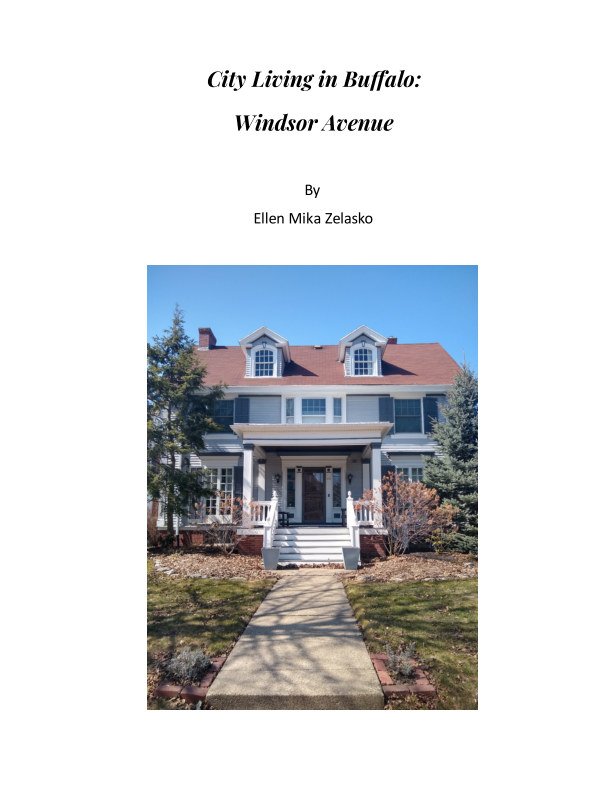 View City Living in Buffalo:  Windsor Ave. by Ellen Mika Zelasko