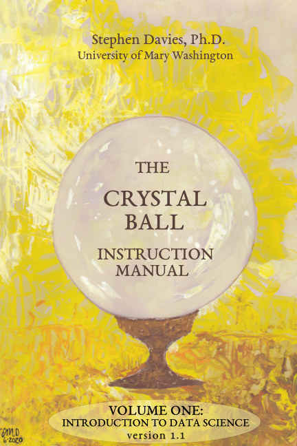 View The Crystal Ball Instruction Manual, Volume One by Stephen Davies