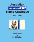 Australian International Post Stamp Catalogue (2000 - 2020) book cover