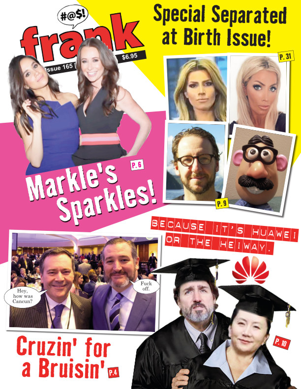 View Frank Magazine, Vol 4, Issue 165 by Frank Magazine