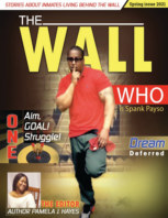 The Wall Magazine Spring 2021 book cover
